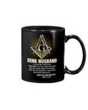 Freemason Dear Husband Mail Fowarded Mug front