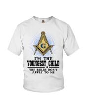 Freemason The Child Rules Youth T-Shirt thumbnail