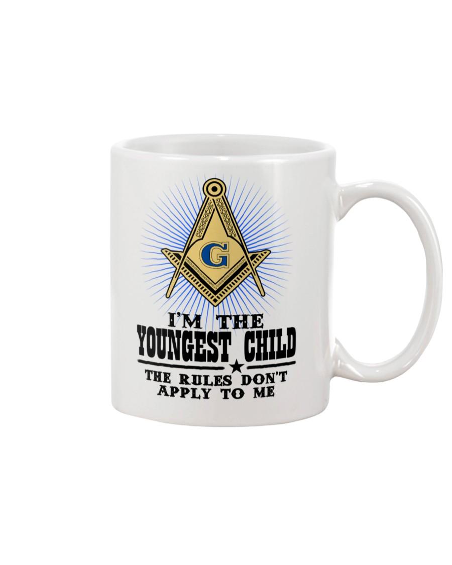 Freemason The Child Rules Mug