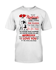 Family Boyfriend Be Yours Clock Moon Classic T-Shirt thumbnail