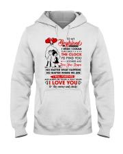 Family Boyfriend Be Yours Clock Moon Hooded Sweatshirt thumbnail