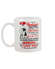 Family Boyfriend Be Yours Clock Moon Mug back