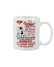 Family Boyfriend Be Yours Clock Moon Mug front