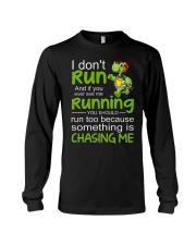 Turtle I Don't Run Long Sleeve Tee thumbnail