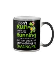 Turtle I Don't Run Color Changing Mug thumbnail