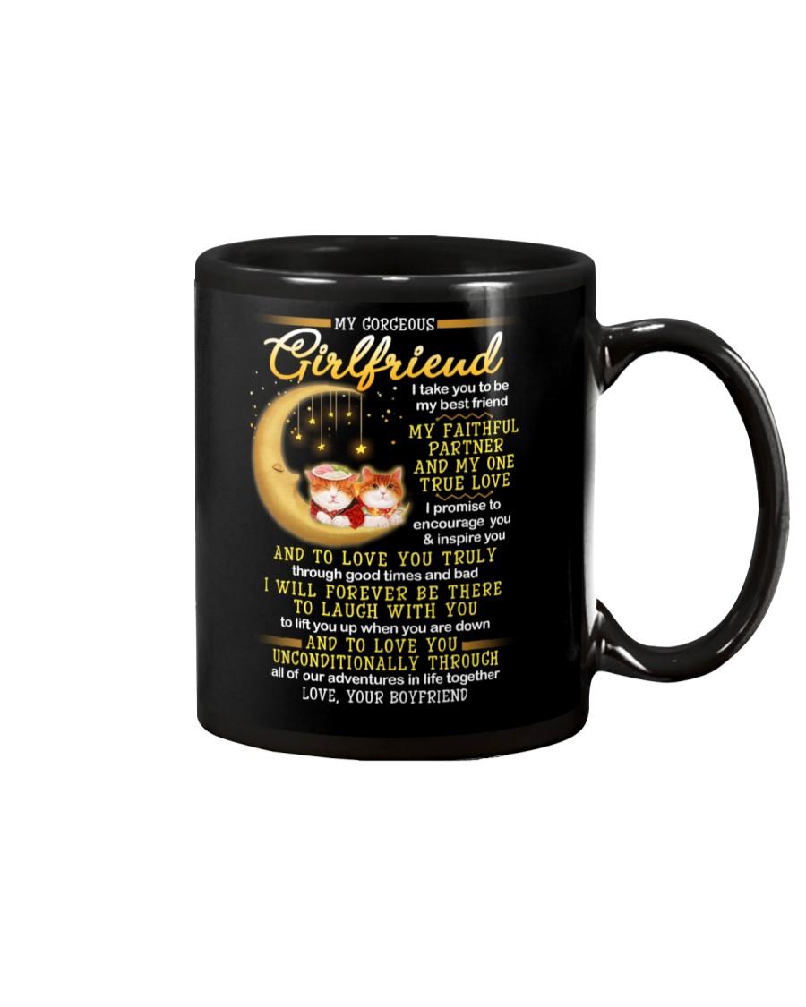 Cat Faithful Partner True Love Girlfriend Mug