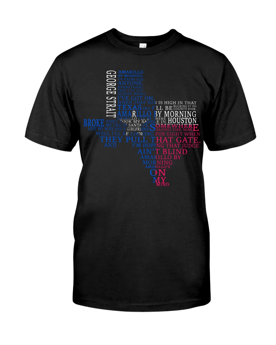 Amarillo By Morning By GS Classic T-Shirt