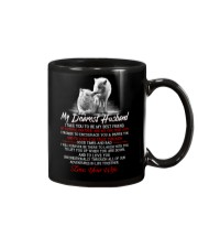 Faithful Partner True Love Husband Wolf Mug tile