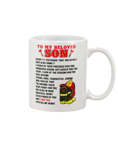 Firefighter To my beloved son