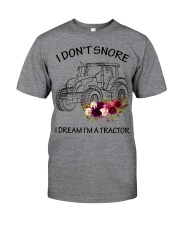 Farmer I'm don't snore  Classic T-Shirt tile