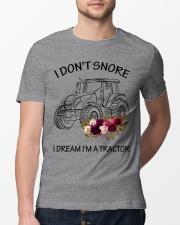 Farmer I'm don't snore  Classic T-Shirt lifestyle-mens-crewneck-front-13