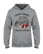 Farmer I'm don't snore  Hooded Sweatshirt thumbnail