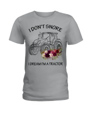 Farmer I'm don't snore  Ladies T-Shirt thumbnail