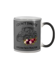 Farmer I'm don't snore  Color Changing Mug thumbnail