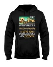 Otter Mom Son Last Breath To Say Love   Hooded Sweatshirt thumbnail