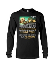 Otter Mom Son Last Breath To Say Love   Long Sleeve Tee thumbnail