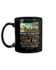 Otter Mom Son Last Breath To Say Love   Mug back