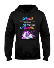 Unicorn Aunt Kids T-shirt Hooded Sweatshirt thumbnail