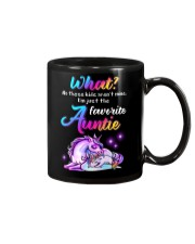 Unicorn Aunt Kids T-shirt Mug thumbnail