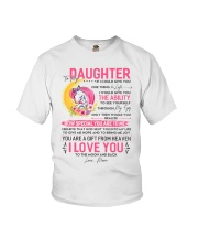 Unicorn Daughter Mom Clock Ability Moon Youth T-Shirt thumbnail