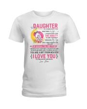 Unicorn Daughter Mom Clock Ability Moon Ladies T-Shirt thumbnail