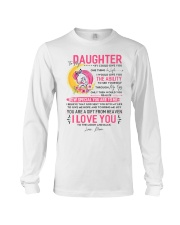 Unicorn Daughter Mom Clock Ability Moon Long Sleeve Tee thumbnail