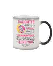 Unicorn Daughter Mom Clock Ability Moon Color Changing Mug thumbnail