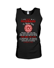 Firefighter You Are My Life Husband Unisex Tank thumbnail