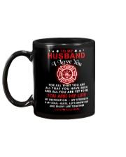 Firefighter You Are My Life Husband Mug back