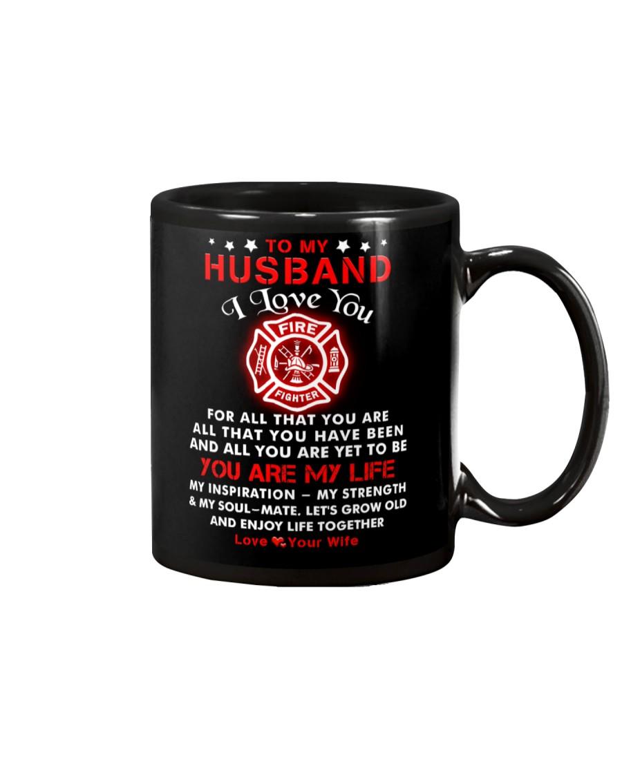 Firefighter You Are My Life Husband Mug