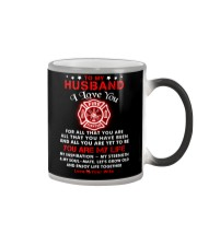 Firefighter You Are My Life Husband Color Changing Mug thumbnail