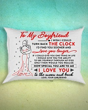 Family Boyfriend The Clock The Moon Rectangular Pillowcase aos-pillow-rectangle-front-lifestyle-3