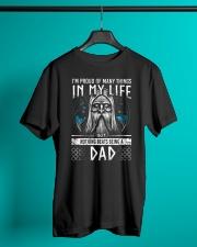 Proud Dad Viking Classic T-Shirt lifestyle-mens-crewneck-front-3