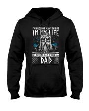 Proud Dad Viking Hooded Sweatshirt thumbnail
