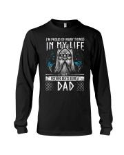Proud Dad Viking Long Sleeve Tee thumbnail