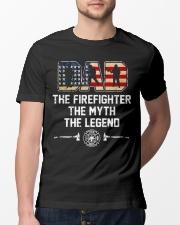 Firefighter Myth Legend  Classic T-Shirt lifestyle-mens-crewneck-front-13