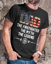 Firefighter Myth Legend  Classic T-Shirt lifestyle-mens-crewneck-front-4