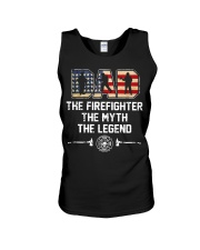Firefighter Myth Legend  Unisex Tank tile