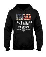 Firefighter Myth Legend  Hooded Sweatshirt thumbnail