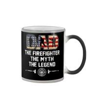 Firefighter Myth Legend  Color Changing Mug tile
