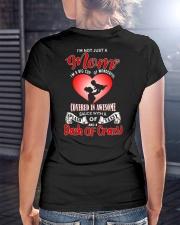 I'm Not Just A MOM I'm A Big Cup Of Wonderful Ladies T-Shirt lifestyle-women-crewneck-back-3