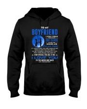 Fishing Boyfriend Clock Ability Moon Hooded Sweatshirt thumbnail