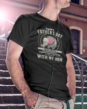 Father's Day Inherited Elephant Classic T-Shirt lifestyle-mens-crewneck-front-5