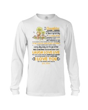 Family Daughter Mom Today Is A Good Day  Long Sleeve Tee thumbnail
