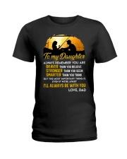 Always Remember Fishing Daughter Mug Ladies T-Shirt thumbnail