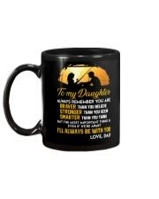 Always Remember Fishing Daughter Mug Mug back