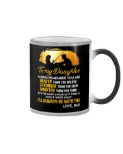 Always Remember Fishing Daughter Mug Color Changing Mug thumbnail