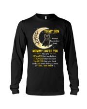 Scottish Terrier Son Mom Mommy Loves You Long Sleeve Tee thumbnail