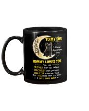 Scottish Terrier Son Mom Mommy Loves You Mug back