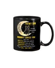 Scottish Terrier Son Mom Mommy Loves You Mug front